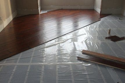 laminat heating floor 2
