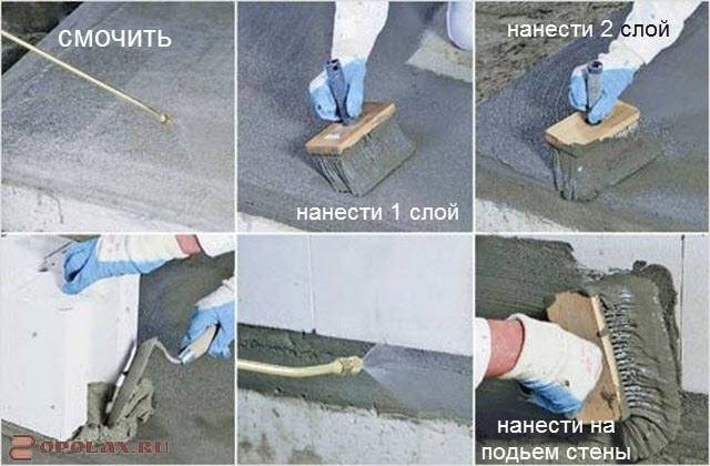 Смочить бетон блоки из ячеистого бетона москва купить